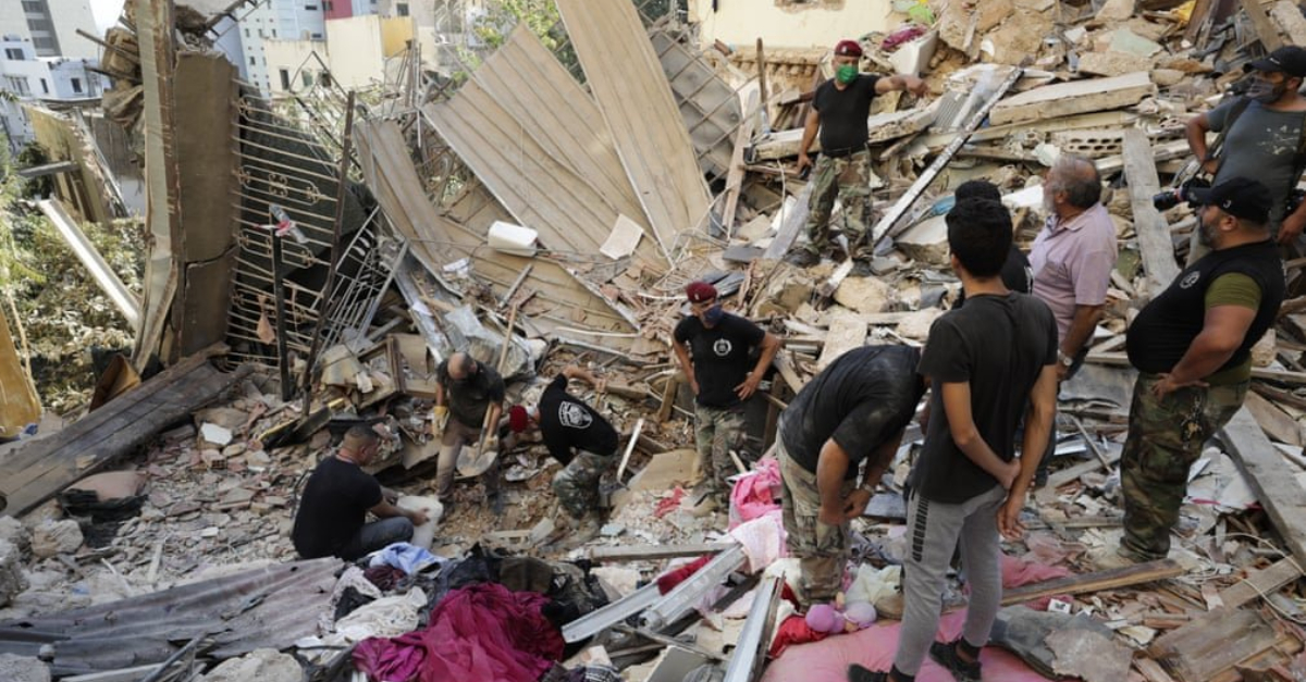 help Beirut explosions