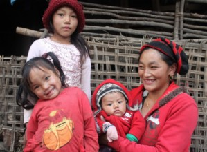 Sunita and her family
