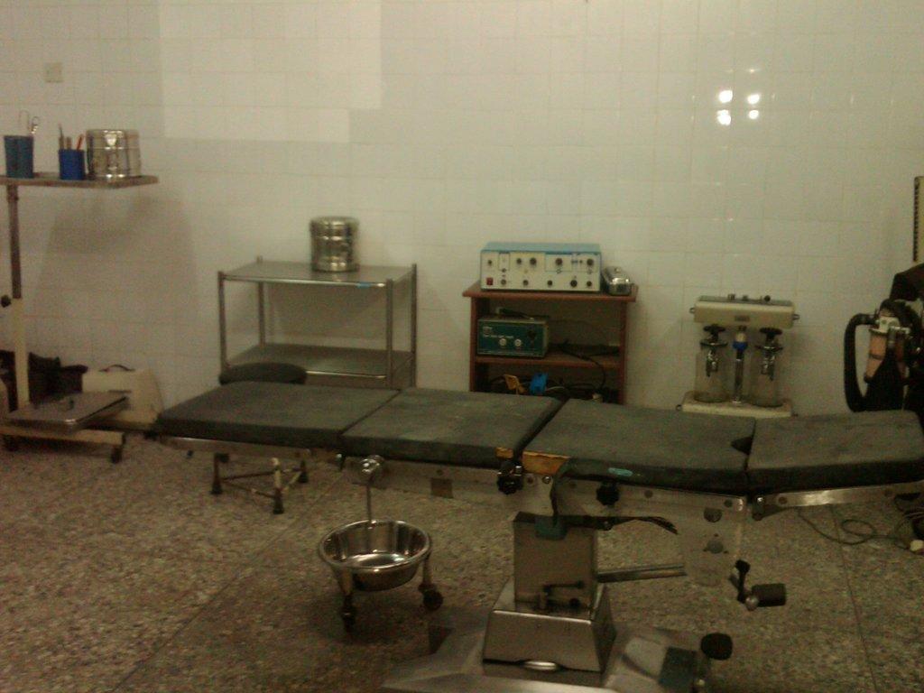 Operating Room needing furnishing and equipment