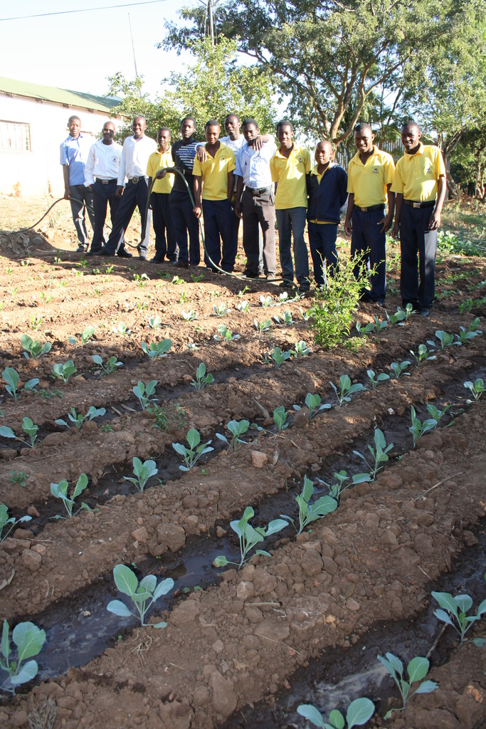 Food For Life garden 1st Mohlaba Scouts