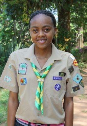 Khanyisa Mabuza 1st Shiluvane Scouts