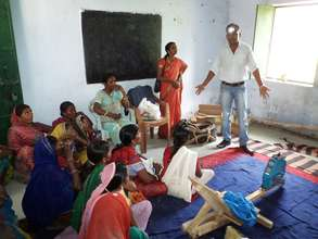Sales training for potential women entrepreneurs