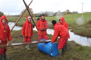 Outdoor team building activities.