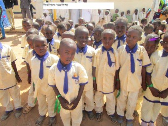 Children at their Kindergarten in Darfur