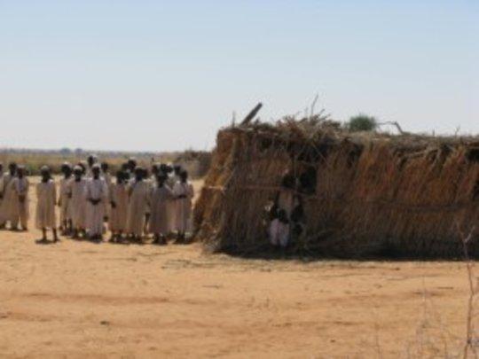 A village school before Kids for Kids