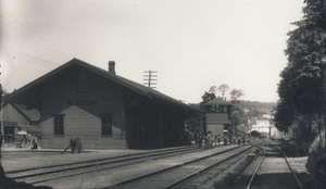 Station Around the Turn of the 20th Century