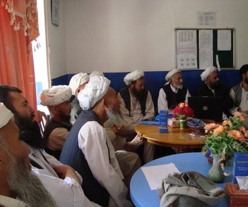 MSIA Afghan Mullah Training Session