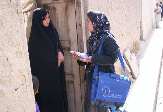Train Afghan Women to Champion Reproductive Health