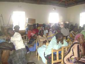Participation at a PICD meeting in Got Oyenga.