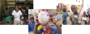 Amazing talibe children encountered by Ann Pille