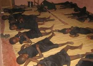 Children during their 15 day recuperation at MDG