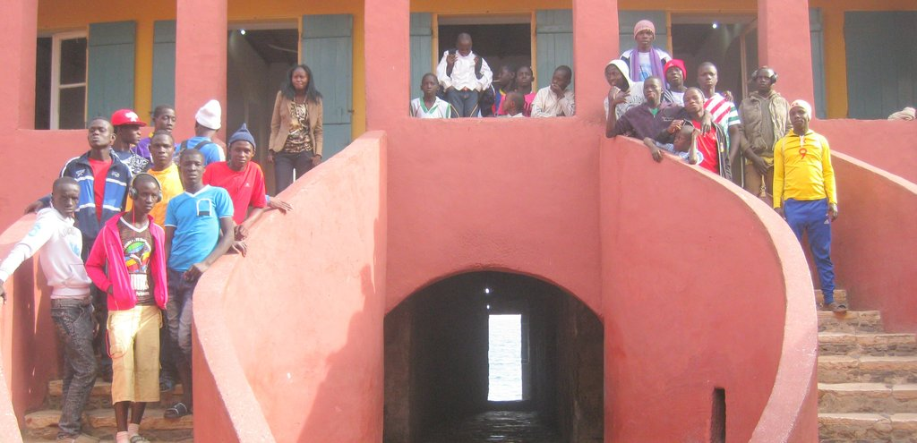 "With ""Door of No Return"", House of Slaves, Goree"