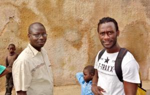 Idrissa Diallo & Issa Kouyate, angels of St-Louis