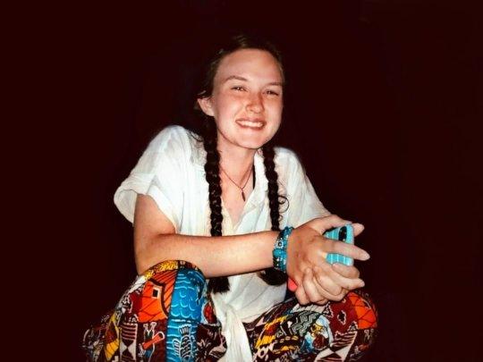 Volunteer Patricia Mehaffy
