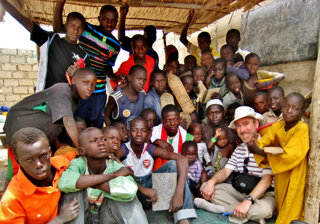2010 - Rod with talibes and their marabout