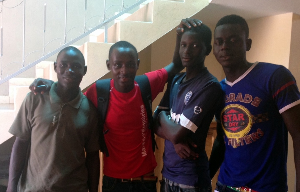 Mamadou, Arouna, Ablaye and Soulayemane