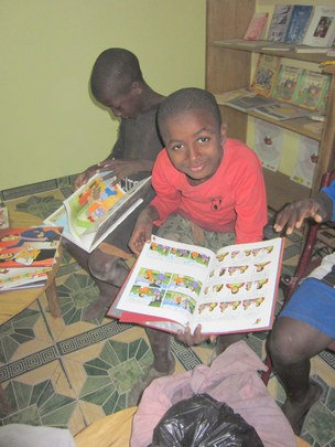 Discovering books when first at MDG in Jan. 2012