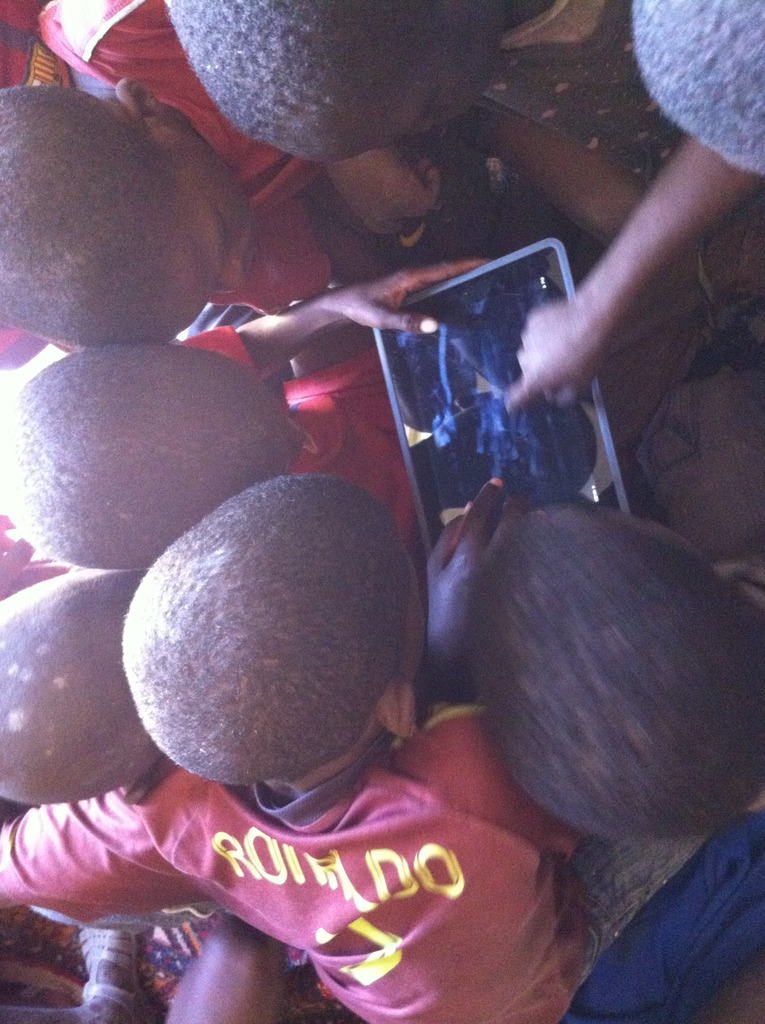 Talibes mesmerized by photos from space in 2013