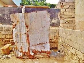 Toilet for 50 boys in daara Serigne Yoro Ba