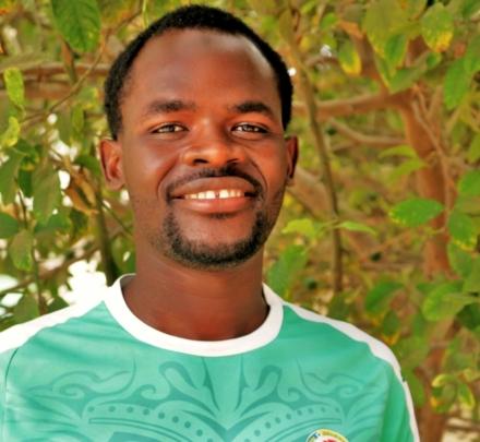 Abdou Soumare, responsible for education programs