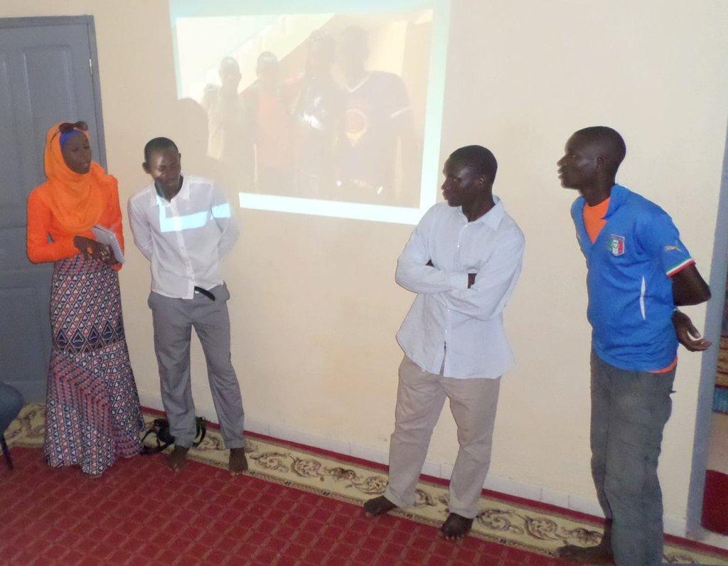 Diodio presents senior talibe staff members