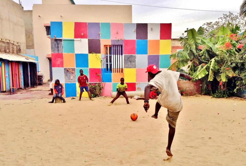 Soccer, anytime anywhere