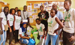 Volunteers back from collecting clothing donations