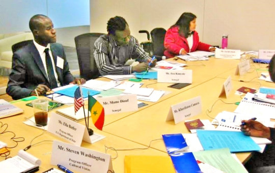 A working meeting with US anti-trafficking unit