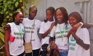 Senegalese volunteers, ready to go