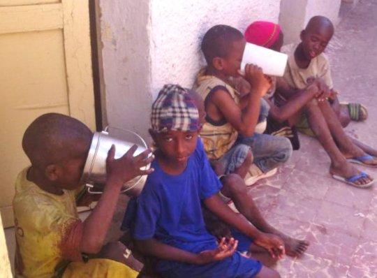 Mbaya Aw children found in Saint Louis by Cheikh