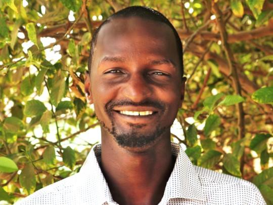 Street educator Amadou Ba