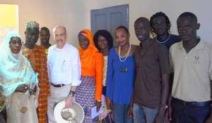 Ambassador Zumwalt with MDG team members