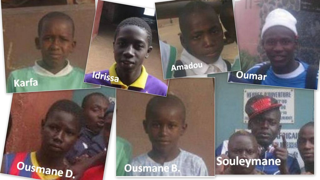 Talibe children who shared their Goree stories