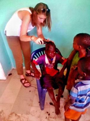 Cutting talibe children