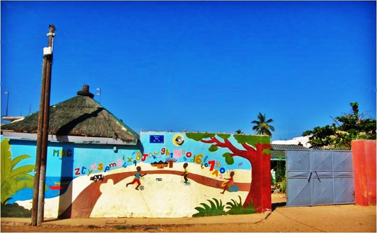 MDG's centre, welcoming 700 children each month