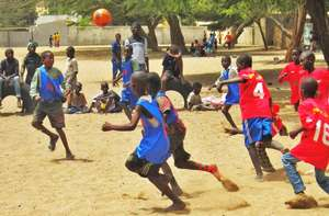 Soccer is a wonderful interlude in the boys' lives