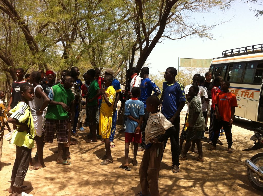 30 excited talibes arrive at Guembeul Reserve