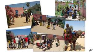 Let the Games Begin - Talibe Day at MDG's Centre
