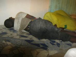 Talibe runaways found at 1 a.m. at a market stall
