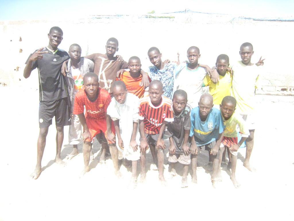 Daara Ousmane Sow, victor in the junior category
