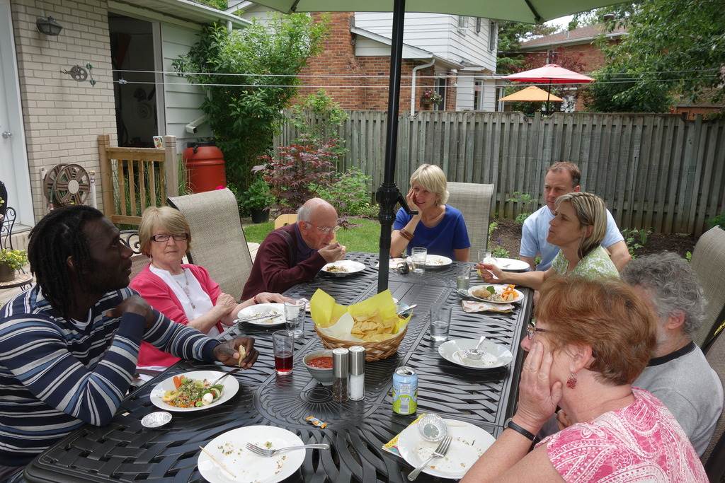 Reception hosted by Hornby/Desrochers family