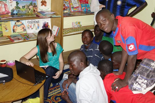 Registering talibe children with gmail accounts