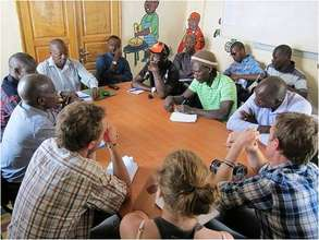 Planning common action for the talibe children