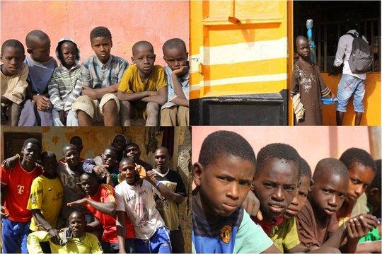 Talibe children of Saint Louis