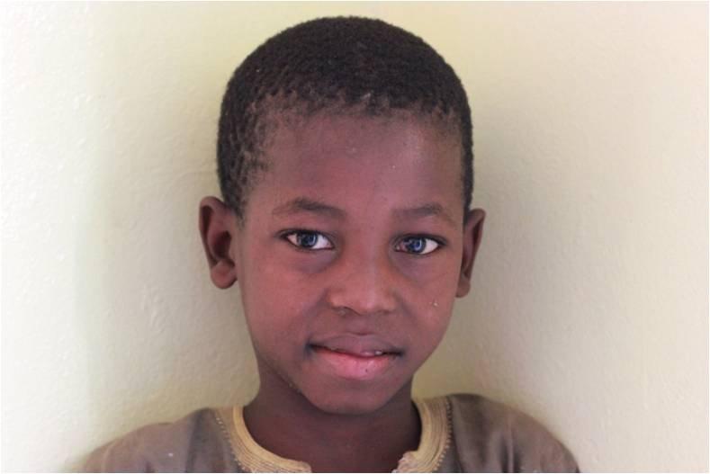 Ibrahima Diallo, 6, talibe from Guinea