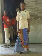 the bigest Mbororo girl of the school