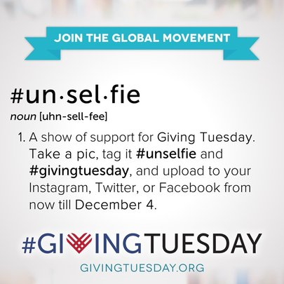 Be part of the giving movement!