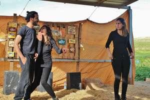 Playback theatre event in a small village
