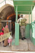 Checkpoint in Hebron