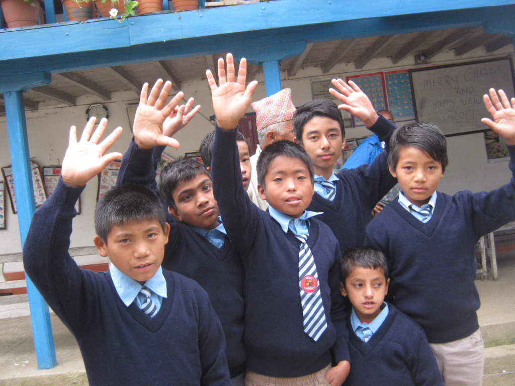 Boys  of the schools .